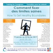How to Set Healthy Boundaries (training in French)