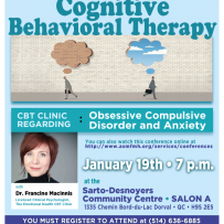 Conference: Cognitive Behavioral Therapy: OCD and Anxiety