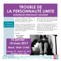 Borderline Personality Disorder Training (training in French)