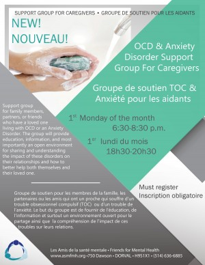 [:en]OCD and Anxiety Disorder Support Group[:fr]Groupe de soutien TOC & anxiété pour les aidants[:]