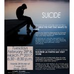 Workshop on suicide prevention: NOURISH THE PART THAT WANTS TO LIVE (Bilingual)