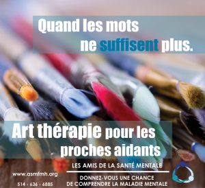 [:en]Art Therapy for the Caregivers[:fr]Art thérapie pour les proches aidants[:] @ Friends for Mental Health | Beaconsfield | Quebec | Canada
