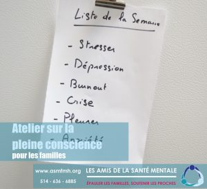 [:en]Mindfulness Workshop[:fr]Atelier sur la pleine conscience[:] @ Friends for Mental Health | Beaconsfield | Quebec | Canada